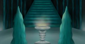 Il signore degli anelli - la compagnia dell'anello: lo specchio di Galadriel