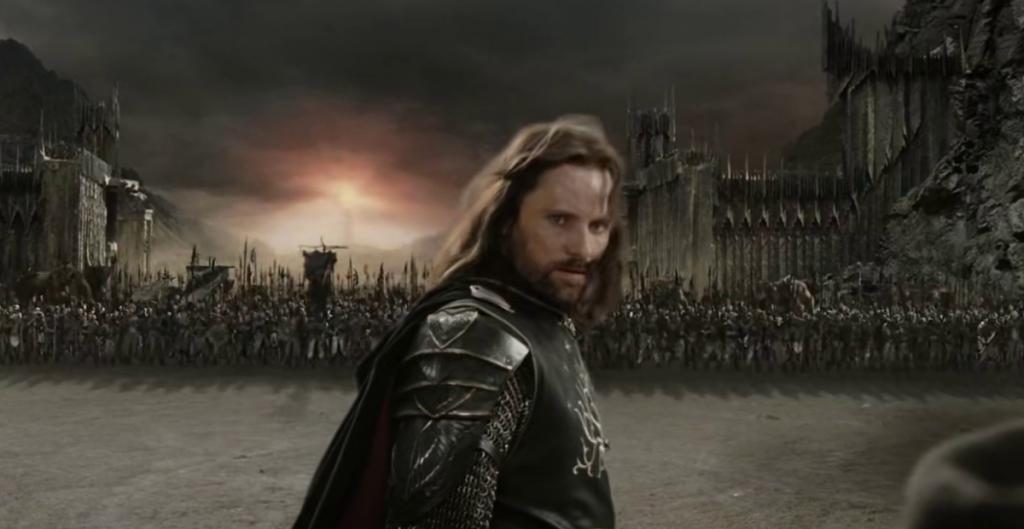il ritorno del re: scena dal film